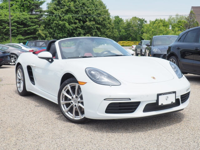 Certified Pre-Owned 2019 Porsche 718 Boxster Turbocharged
