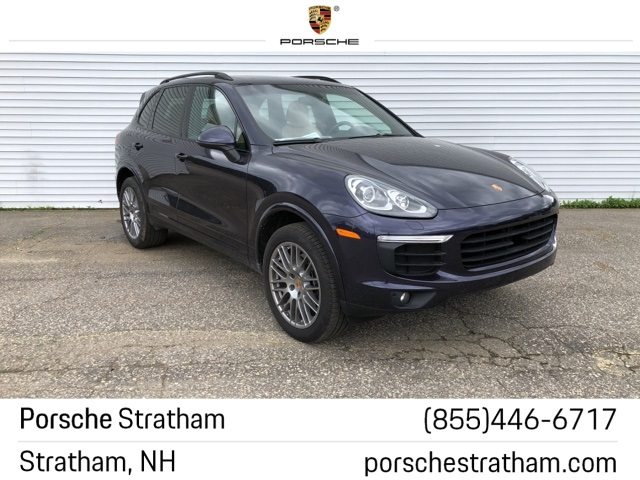 Pre-Owned 2018 Porsche Cayenne Platinum Edition